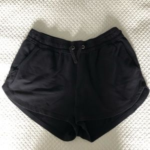 H&M navy blue sweat shorts